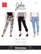 Jalie Ladies & Girls Sewing Pattern 3676 Vanessa Fluid Pants