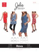 Jalie Ladies & Girls Easy Sewing Pattern 3678 Rova Blouson Tank Dress & Tunic