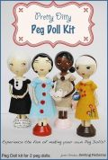 Jamie Christina Peg Doll Sewing Kit