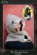 Jamie Christina Ladies & Girls Easy Sewing Pattern Hooded Scarf