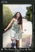 Jamie Christina Ladies Sewing Pattern Sunny Day Dress