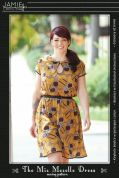 Jamie Christina Ladies Sewing Pattern Miz Mozelle Dress