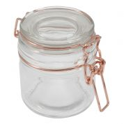 Trimits Glass Jar  Rose Gold