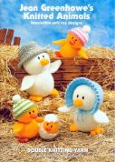 Jean Greenhowe Knitting Pattern Book Knitted Animals