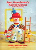 Jean Greenhowe Knitting Pattern Book Knitted Clowns