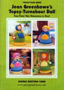 Jean Greenhowe Knitting Pattern Book Topsy Turnabout Dolls