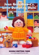 Jean Greenhowe Knitting Pattern Book Little Dumpling Ladies