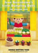 Jean Greenhowe Knitting Pattern Book Little Dumpling Men