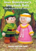 Jean Greenhowe Knitting Pattern Book Storybook Dolls