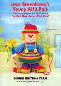 Jean Greenhowe Knitting Pattern Book Young Alfs Pals