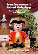 Jean Greenhowe Knitting Pattern Book Knitted Hedgehogs