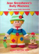 Jean Greenhowe Knitting Pattern Book Dolly Mixtures