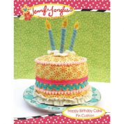 Jennifer Jangles Easy Sewing Pattern Happy Birthday Cake Pin Cushion