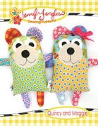 Jennifer Jangles Easy Sewing Pattern Quincy & Maggie Bear