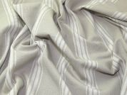 Broad Ticking Stripe Woven Cotton Canvas Upholstery Fabric