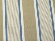 Ticking Stripe Woven Cotton Canvas Upholstery Fabric