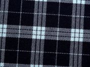 Plaid Check Stretch Suiting Dress Fabric