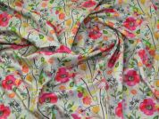 Cotton Canvas Fabric  Multicoloured