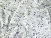 Printed Cotton Fabric  Green