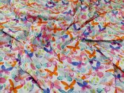 Cotton Poplin Fabric  Multicoloured