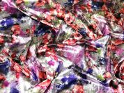 Velvet Knit Fabric  Multicoloured