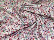Printed Cotton Fabric  Pink