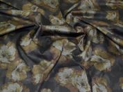 Ponte Roma Knit Fabric  Bronze