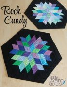 Jaybird Rock Candy Table Topper Quilt Pattern