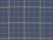 Art Gallery Fabrics Deep Sea Plaid Stretch Jersey Knit Dress Fabric