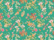 Art Gallery Fabrics Cottagely Posy Stretch Jersey Knit Dress Fabric
