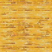 Art Gallery Fabrics Fluxus Ochre Stretch Jersey Knit Dress Fabric