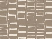 Art Gallery Fabrics Rush Hour Tan Stretch Jersey Knit Dress Fabric