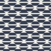 Art Gallery Fabrics Tomahawk Stripe Stretch Jersey Knit Dress Fabric