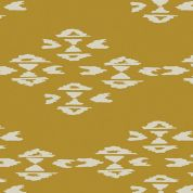 Art Gallery Fabrics Overshot Gold Stretch Jersey Knit Dress Fabric
