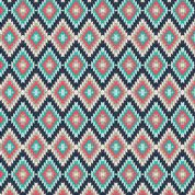 Art Gallery Fabrics Kilim Inherit Shadow Stretch Jersey Knit Dress Fabric