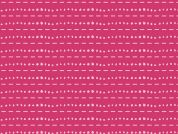 Art Gallery Fabrics Les Points Rose Stretch Jersey Knit Dress Fabric