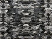 Geometric Tapestry Woven Home Fabric  Grey
