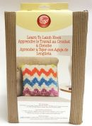Boye Learn to Latch Hook Chevron Cushion Kit