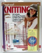Boye I Taught Myself Knitting Kit with DVD