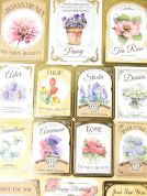 Kanban Card Craft Toppers Seeds & Sentiments