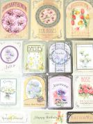 Kanban Card Craft Toppers Grown With Love Sentiments
