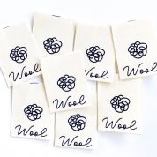 Kylie And The Machine Wool Print Labels