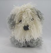 Knitting By Post Cracker the Old English Sheepdog Toy Knitting Pattern  DK