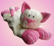 Knitting By Post The Cat?s Pyjamas Pyjama Case Knitting Pattern  Chunky