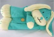 Knitting By Post The Happy Bunny Pyjama Case Knitting Pattern  Chunky