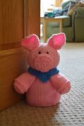 Knitting By Post Pig Doorstop Knitting Pattern  Chunky