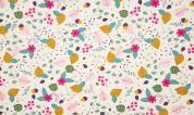 Cotton Jersey Knit Fabric  Multicoloured