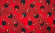 Cotton Jersey Knit Fabric  Red