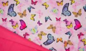 Soft Shell Fabric  Pink
