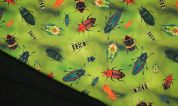 Soft Shell Fabric  Green